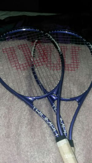 Set of wilsons tennis rackets for Sale in Moreno Valley, CA