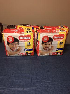 Huggies size 4 for Sale in Stockbridge, GA
