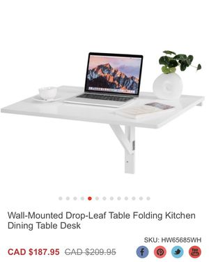 Table folding kitchen Dining for Sale in Bakersfield, CA