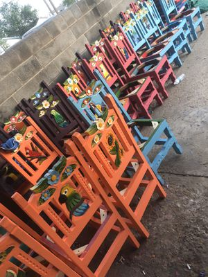 Mexican chairs for Sale in Odessa, TX