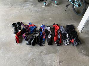 Assorted Dirt Bike Riding Gear for Sale in Hemet, CA