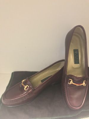 Vintage Gucci Womens loafers for Sale in Santa Monica, CA