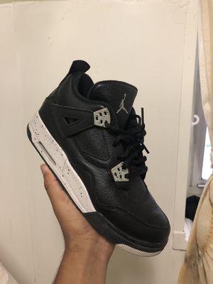 """Jordan retro 4 """"Oreo"""" size 7 for Sale in New York, NY"""