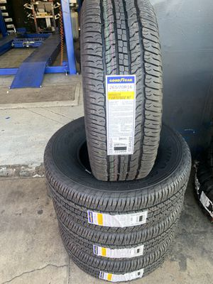 265/70/16 New set of Goodyear tires installed for Sale in Ontario, CA