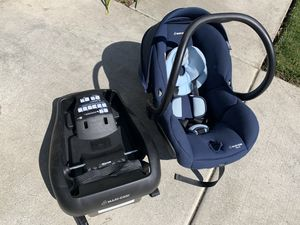 Maxi Cosi Mico 30 infant car seat with base $140 obo for Sale in Livermore, CA