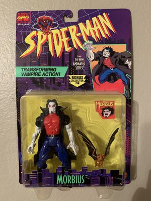 Marvel Spider-Man Animated Series (1995) Morbius Toy Biz Figure NIP for Sale in Stockton, CA