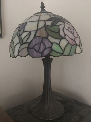 Antique Tiffany dragonfly style table lamp w/underwriter's sticker for Sale in Canyon Lake, CA