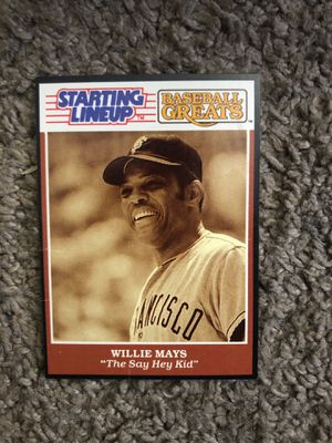 89 Starting line up Willie Mays mint for Sale in Capitol Heights, MD