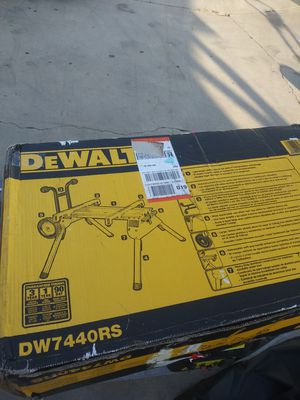Bench for table saw or chopsaw new seal package for Sale in Compton, CA
