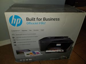 HP officejet 6962 all-in-one printer scanner fax copier for Sale in Tucson, AZ