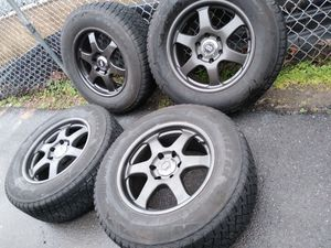 18x8 enkei 6 lugs. Chevy Toyotas Nissan for Sale in Manassas, VA