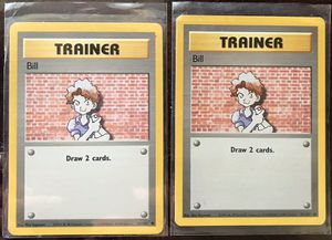 Two Pokémon trainer Bill collectible for Sale in El Cajon, CA