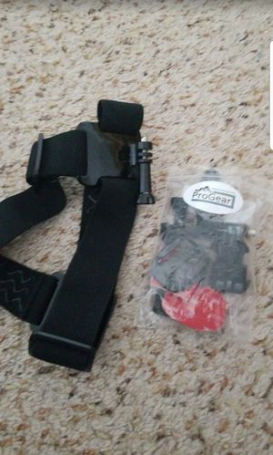 GO PRO HEAD AND HELMET MOUNT for Sale in San Diego, CA