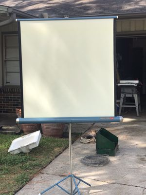 Projector screen for Sale in Houston, TX