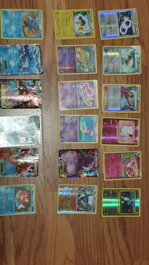 Holo pokemon cards x18 for Sale in Apex, NC