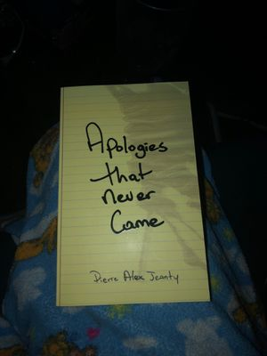 Apologies That Never Came by Pierre Alex Jeanty for Sale in Chillicothe, IL