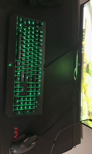 Gaming keyboard , mouse , and mousepad for Sale in Palm Springs, FL
