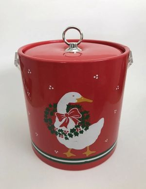 Vintage Christmas Goose Ice Bucket for Sale in Tampa, FL