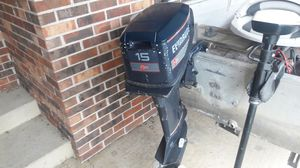15HP Evinrude outboard motor for Sale in Monrovia, IN
