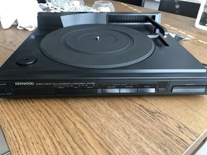 Kenwood KD66F Linear tracking turntable for Sale in Sarasota, FL