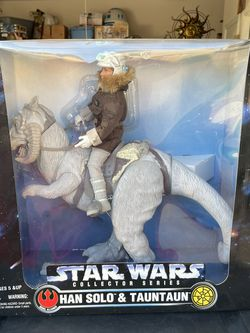 """1997 Kenner Star Wars Collector Series Han Solo & Tauntaun Action Figure 12"""" NEW Huge for Sale in Waco,  TX"""