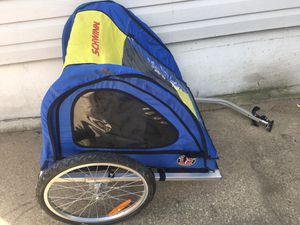 Schwinn pull behind Bike trailer for Sale in Akron, OH