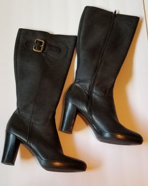 Franco Sarto Genuine Leather Knee High Boots for Sale in East Wenatchee, WA