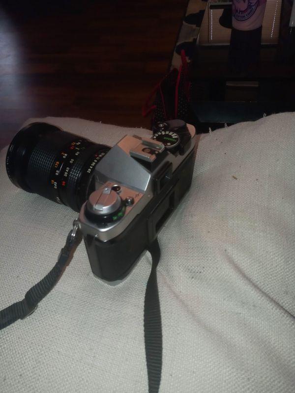 Cannon Ae-1 Film Camera