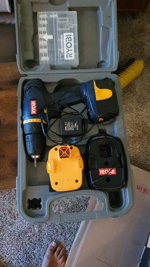 Ryobi 12v power tool set for Sale in Mountlake Terrace, WA