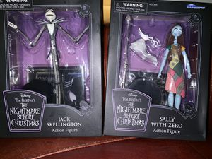 The nightmare before Christmas Jack n sally collectors figures brand new for Sale in Los Angeles, CA