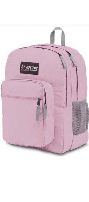 NEW! Jansport SuperMax pink Backpack computer laptop bag travel work back to school book bag water bottle holder for Sale in Carson, CA
