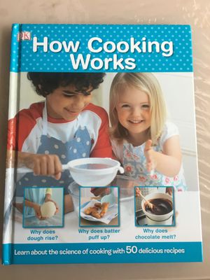 Kids learning to cook book for Sale in Sammamish, WA