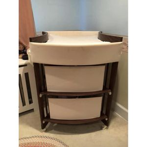 Stokke care changing table station walnut brown Scandinavian design for Sale in San Diego, CA