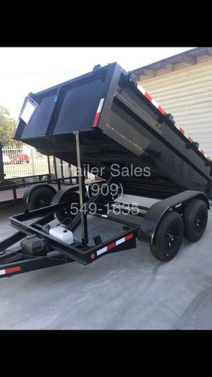 8x10x2 dump trailer $3499 for Sale in West Covina, CA