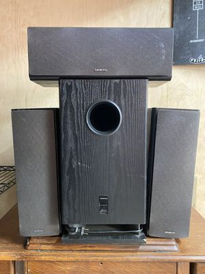 Onkyo speakers for Sale in Solana Beach, CA