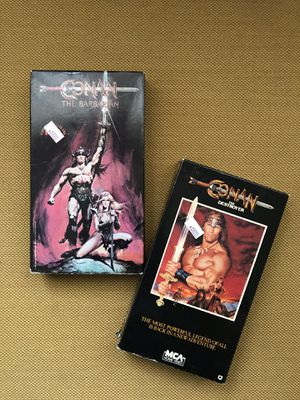 Vintage Lot of CONAN the Barbarian VHS Tapes for Sale in Alameda, CA