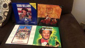 Robin Williams Laserdisc Lot-4 for Sale in Houston, TX