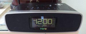 IHome iP90 IPod IPad Dock & Dual Alarm Clock Radio AM/FM & Cords for Sale in Chesapeake, VA