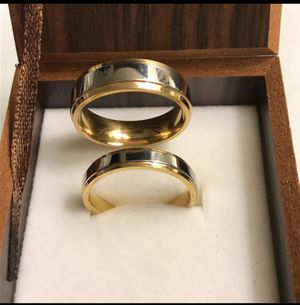 18K Gold Matching Ring Set for Sale in Sacramento, CA
