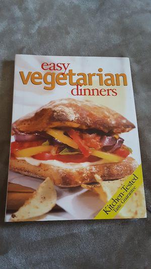 Vegetarian cook book for Sale in Fowler, CA