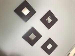 Purple wall art mirror for Sale in Sylmar, CA
