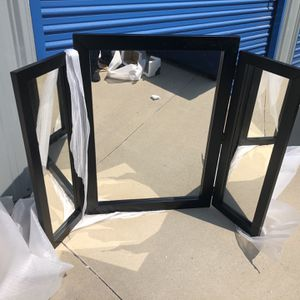 Brand New Vanity Foldable Mirror, Retails For Over $220 for Sale in Fowler, CA