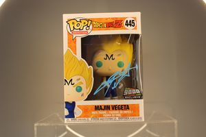 SIGNED Exclusive: Funko Pop! Dragon Ball Z Majin Vegeta Convention Exclusive With Sticker for Sale in San Diego, CA