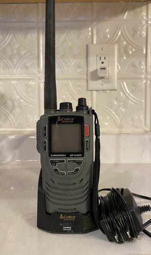 Cobra Marine MR-HH325-VP 5 Watt Submersible VHF Radio for Sale in Buford, GA