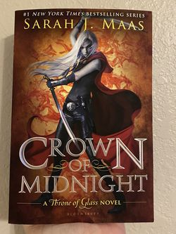 Tog: Crown Of Midnight Paperback for Sale in Cape Coral,  FL