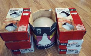 6 Light bulb for Lamps Reflector type lamp in Door Flood light for Sale in Pawtucket, RI