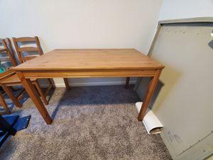 Small wooden table for Sale in La Porte, TX