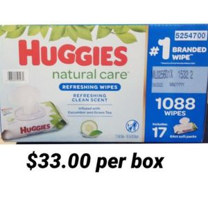 Huggies Wipes for Sale in Los Angeles, CA