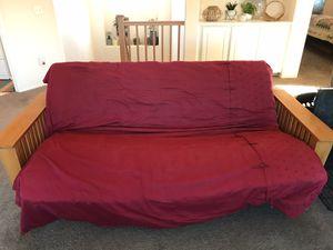 Futon w queen size mattress for Sale in Victorville, CA