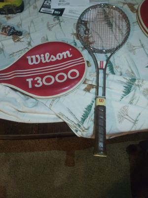 Wilson tennis rackets 3 for $30 for Sale in Charlotte, NC